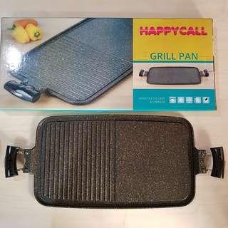 happy call grill pan alat panggangan sehat