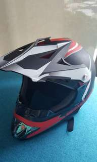 Helmet scooter fullface helmet