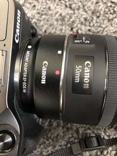Canon EOS M6 Mirrorless Camera (Body & Adapter Only)