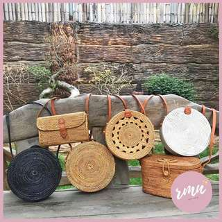 Rattan Bags from Bali, Indonesia