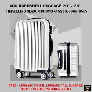 Luggage *ABS* *20 inch* *24 inch* *PROMO*