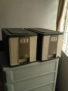 CD Drawers with VCD's