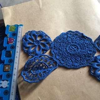 蕾絲 縫紉服裝設計等原材料  diy約7cm