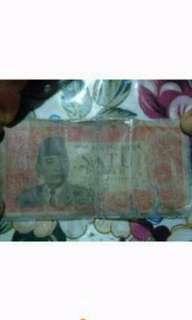 Soekarno 1 rupiah jadul 1962
