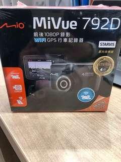 Mio 前後行車紀錄器792D 頂規16G精裝版