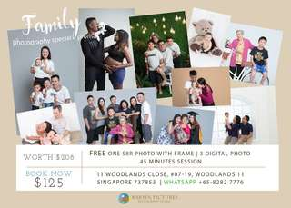 Photography service special package