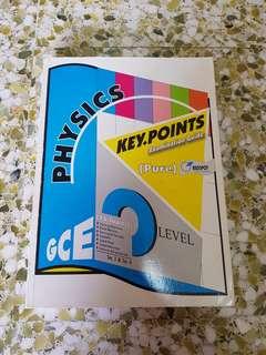 NEW O Level Pure Physics Key Points Examination Guide