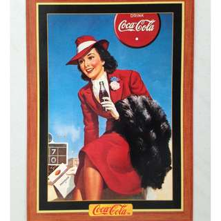 1995 Coca Cola Series 4 Base Card #325 - Poster - 1940