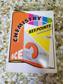 NEW O Level Pure Chemistry Key Points Examination Guide