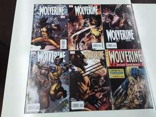Wolverine Sabretooth (2013 Marvel) Comics Set
