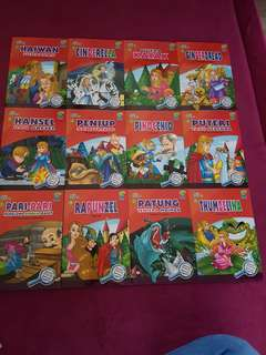 Story books with english and malay wordings