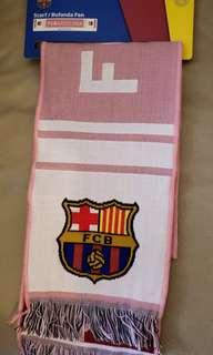 巴塞粉色頸巾