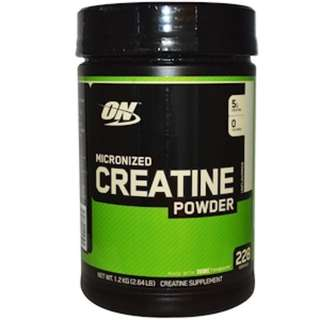 Optimum Nutrition, Micronized Creatine Powder, Unflavored, 2.64 lb (1.2 kg)