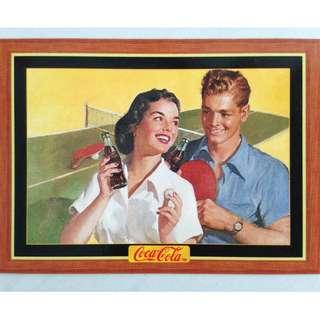 1995 Coca Cola Series 4 Base Card #324 - Original Art - 1954