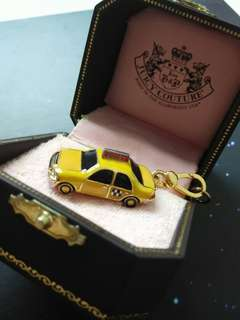 Juicy couture charm ( New York City Taxi Cab)