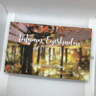 Detail Makeover Autumn Eyeshadow Palette