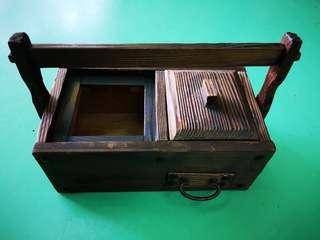 古代香烟盒