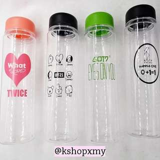 BT21 | W1 | TWICE | GOT7 Plastic Bottle