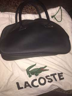 Original Lacoste bowler bag