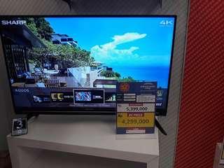 TV LED Sharp promo cicilan tanpa kartu kredit