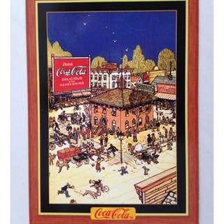 1995 Coca Cola Series 4 Base Card #319 - Magazine Ad - 1921