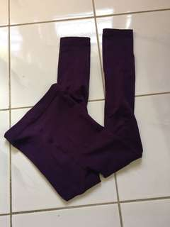 Purple Legging