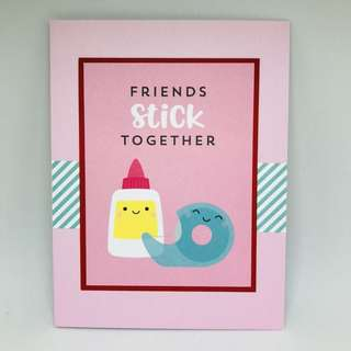 Series of 4 cute cards