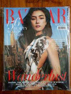 (CLEARANCE SALE : Buy 3 Get 1 Free) Harpers bazaar singapore (natasha liu bordizzo) november 2017
