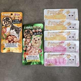 Cat Food and Treats - Ciao Soft Bits, Aatas Cat, Nutripe