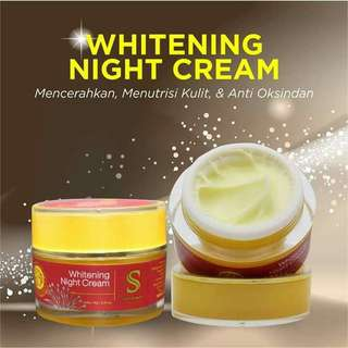 Shineskin Whitening Night Cream