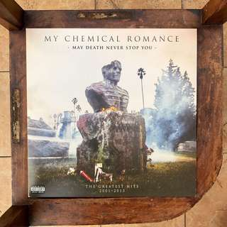 "My Chemical Romance - May Death Never Stop You (2014) 12"" Vinyl LP"