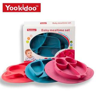 Yookidoo Silicone Suction Placemat/Plate