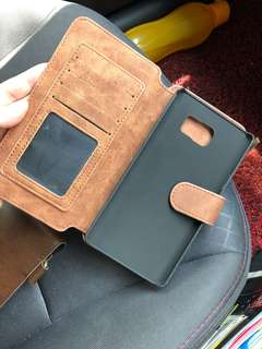 Samsung galaxy Note 5 leather casing wallet
