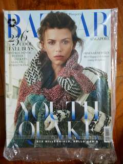 (CLEARANCE SALE : Buy 3 Get 1 Free) Harpers bazaar singapore october 2017