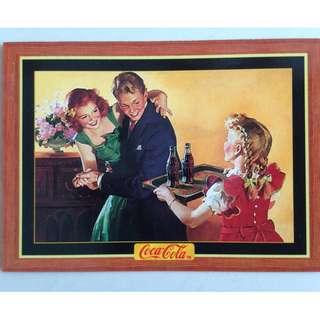 1995 Coca Cola Series 4 Base Card #317 - H. Sundblom - 1946