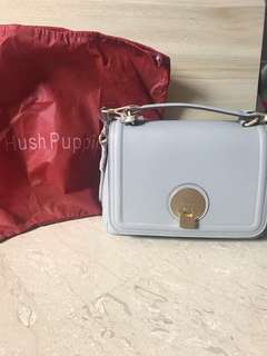 Hush puppies blush grey sling shoulder handbag