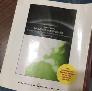 Advertising and Promotion (8th edition)