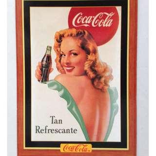 1995 Coca Cola Series 4 Base Card #314 - Mexican Poster- 1948