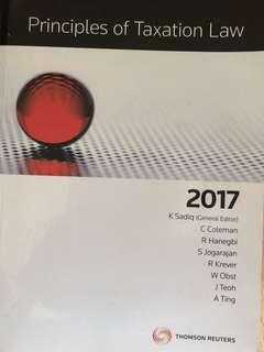 Principles of Australian tax laws 2017