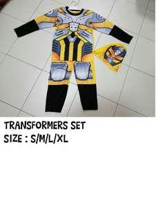 *NEW* SPIDERMAN &TRANSFORM CLOTHES
