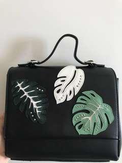 Mango Printed Shoulder Bag
