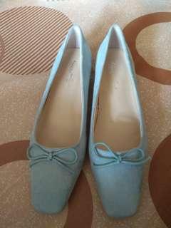 🚚 D+AF淺藍色方頭包鞋