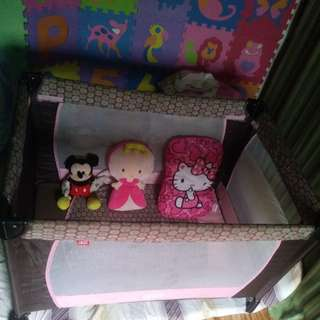 IRDY PINK GIANT CRIB