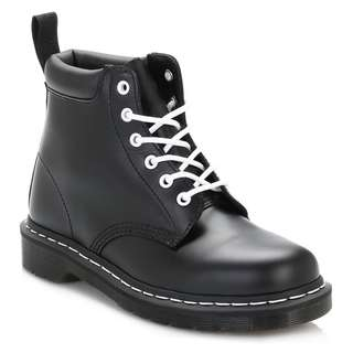 Dr. Martens Womens Black 939 Smooth Leather Boots