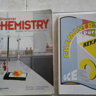Discover Chemistry GCE O level Science and Chemistry key point Exam guide $2.00 each