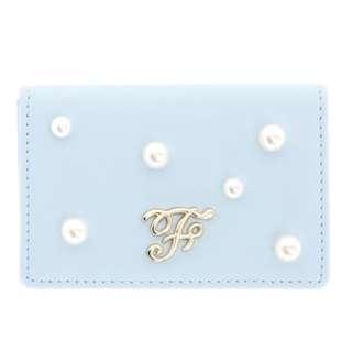 Maison de FLEUR Blue Pearl Card Case