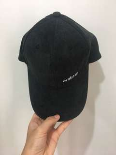 韓風cap帽(百搭黑色)