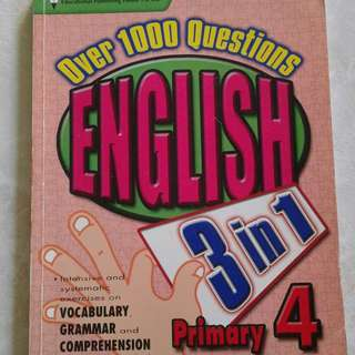 Over 1000 Questions English 3 in 1 Pr 4