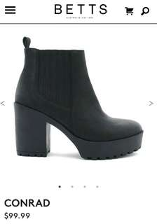 "Betts ""CONRAD"" chunky boot heel"