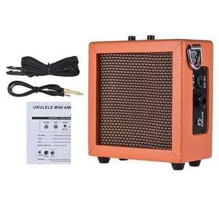 Portable Amplifier Mini w Strap & Audio Cable 9V
